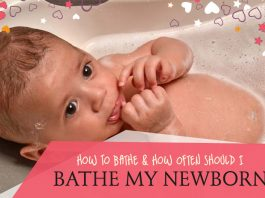 How To Bathe And How Often Should I Bathe My Newborn