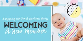 Shopping List For A Newborn Baby – Welcoming A New Member