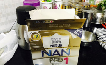 Review – NAN Pro Stage 1 Infant Formula