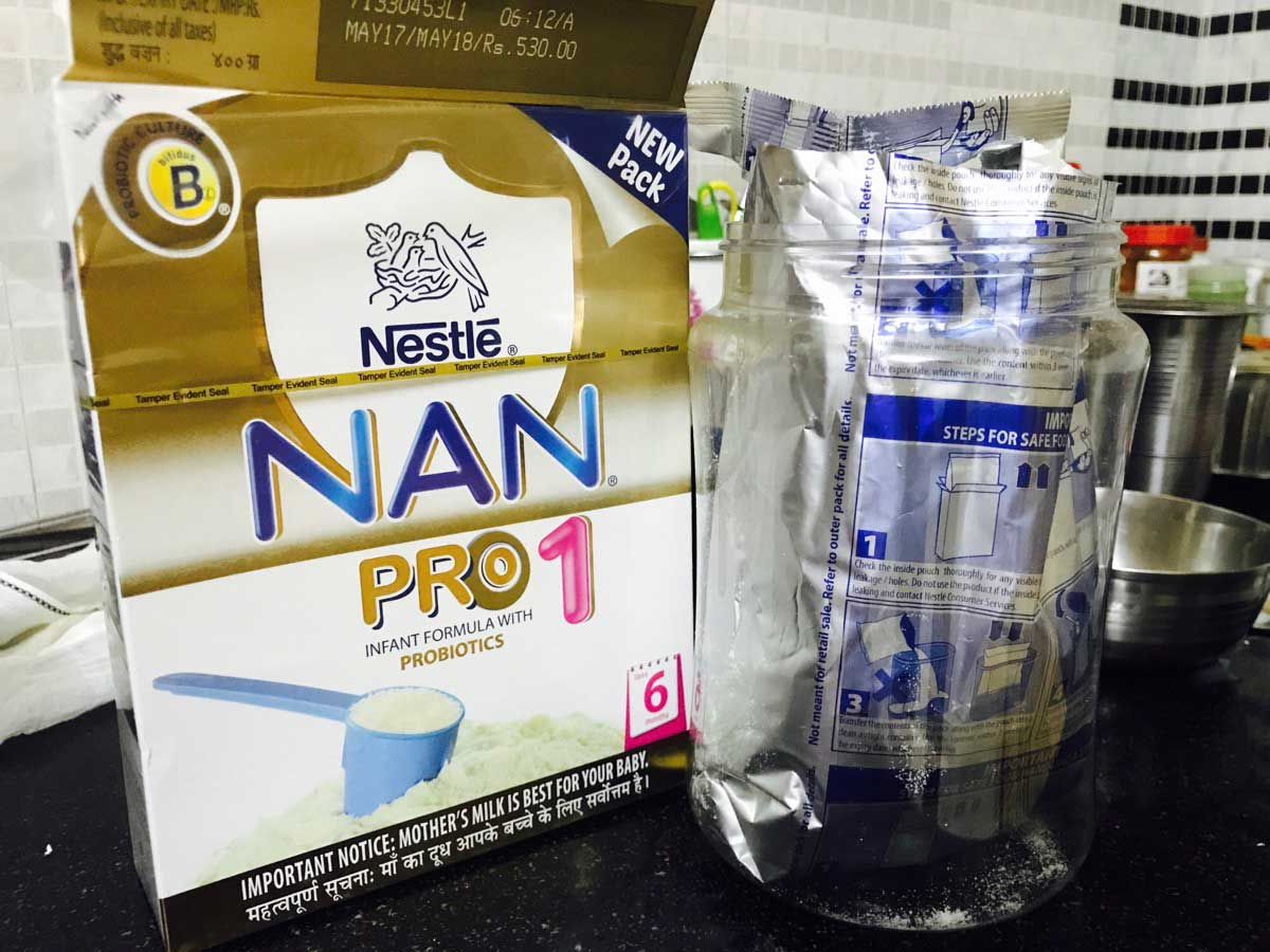 Review – NAN Pro Stage 1 Infant Formula