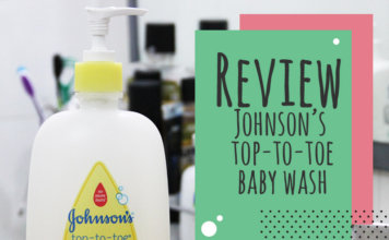 Review – Johnson's Top To Toe Wash