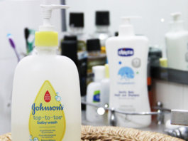 Review – Johnson's Top-To-Toe Wash