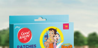 Chhota Bheem Mosquito Repellent Patch At Your Protection