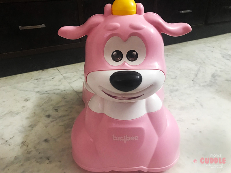 Review of Baybee LittleScooby 3 in 1 Potty Training Seat